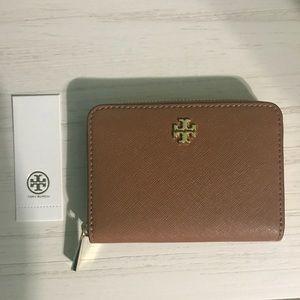 Tory Burch Emerson Zip Coin Wallet